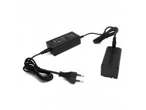 Universální baterie do zásuvky pro LED světla a video monitory 5