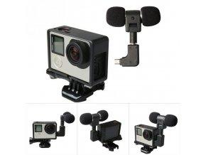 Stereo externí mikrofon pro GoPro 3 a 4 1