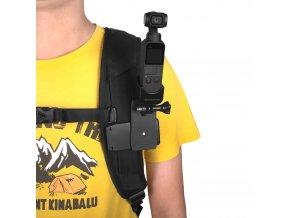 Držák DJI OSMO POCKET na batoh, popruh, kšiltovku atd 10