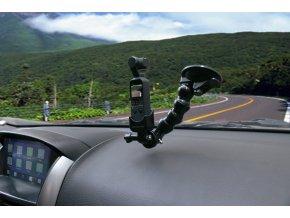 Držák DJI OSMO POCKET do auta přísavka na sklo 2
