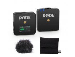 Rode Wirekess GO sada bezdrátového klopového mikrofonu