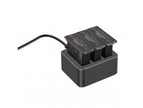 Externí nabíječka DJI Osmo Action baterií 3