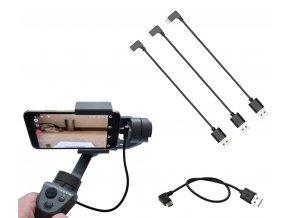 úvodní Krátké nabíjecí kabely pro DJI Osmo Mobile 2 a 3 2