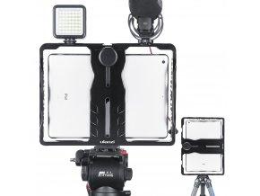 Video klec a obouruční držák pro tablety 10