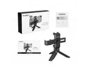 Malý RIG VF OP01 pro DJI Osmo Pocket, mobil a sáňky pro mikrofon 1