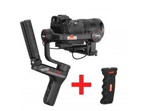 WeeBill LAB S malý 3 osý stabilizátor kamer s nosností až 4KG MADLO ZDARMA