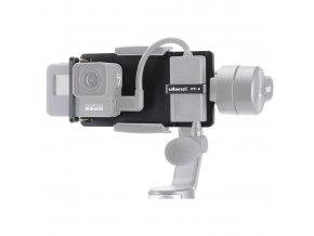 Adaptér pro GoPro 5,6,7 do stabilizátorů na telefon i s držákem mikrofonního adaptéru 7