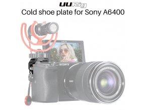 226 Přídavné sáňky blesku pro Sony A6400 na stranu mimo monitor 1