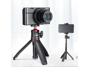 526 Malý stativ, držák a selfie tyč v jednom s kulovou hlavou pro kompaktní foťáky 19