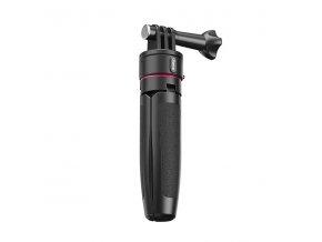 Malý voděodolný stativ, držák a selfie tyč v jednom pro GoPro a jiné akční kamery jako Shorty 6