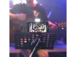 Luxury 3 PLUS Profi dloubá bluetooth selfie tyč se stativem až 160cm 9