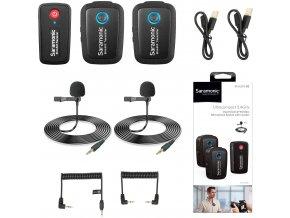Saramonic Blink 500 B2 Duální bezdrátový klopový mikrofon pro 3,5mm jack 10
