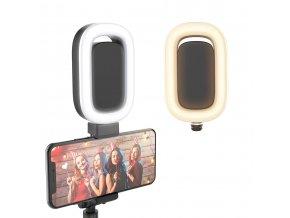 Přídavné LED světlo pro selfie tyč Luxury 3 PLUS 8