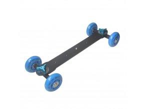 Delší vozík na kameru 35 cm slider Dolly CS VD1 BL 1