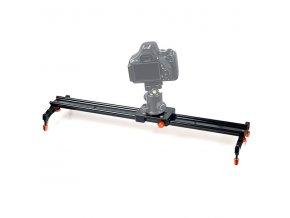 Jednoduchý kamerový slider COMMLITE CS SL60II 60 cm hliníkový 1