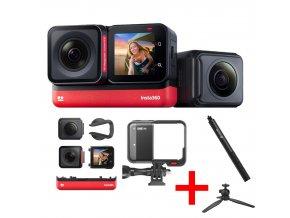 Insta360 One R Twin Edition 5.7K, vodotěsná 360+4K kamera 0