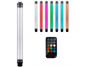 P7 RGB neonová vodotěsná LED trubice 10400mAh 40cm 10