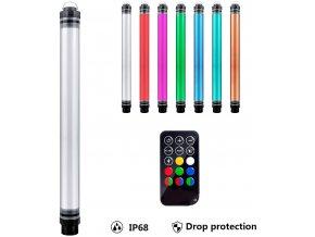 P7 RGB neonová vodotěsná LED trubice 10400mAh 40cm obr.1