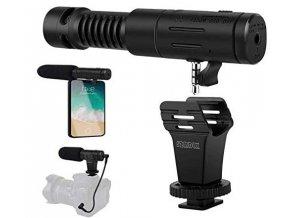 Multifunkční směrový mikrofon na mobil i kameru 1
