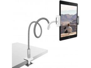 Ohebný držák tabletu i telefonů pro velké tablety jako iPad 12.9 až 232mm 3