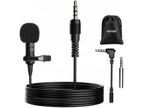 Klopový mikrofon pro telefon, notebook i kameru 1
