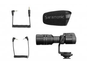 Saramonic malý směrový mikrofon Vmic Mini pro DSLR i telefony 3