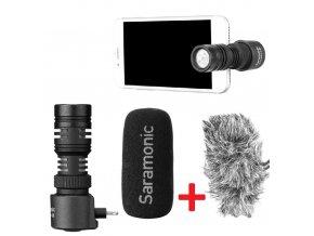 SARAMONIC SmartMic+ Di směrový mikrofon k iPhonu lightning konektor 0