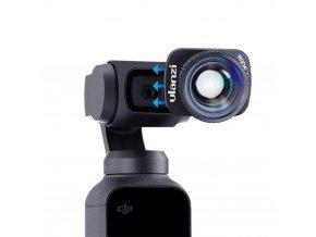 Ulanzi široká Wide 4K čočka V2 pro Osmo Pocket (2020) obr.2