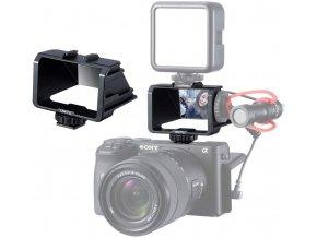 Selfie přední display do sáněk na kameru zrcátko na display 1