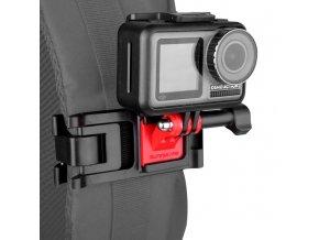 Držák akční kamery na batoh s rychloupínacím systémem Osmo Action, GoPro atd. 1