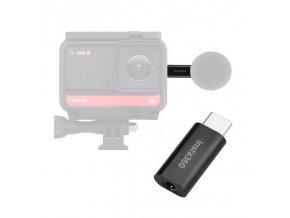 3,5mm mikrofonnní audio adaptér pro kameru Insta360 One R 6
