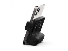 Bluetooth spoušť ve formě držáku telefonu do ruky ve tvaru madla foťáku 7