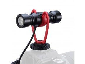 Směrový i dvousměrový mikrofon pro kamery i mobilní telefony 9