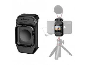 Držák telefonu na stativ s úchytem pro Apple Watch jako selfie monitoru 18