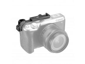 Přídavné dvojité boční sáňky blesku pro Canon M6 Mark II 11