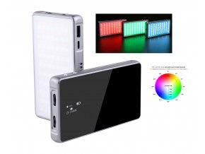 Výkonné malé RGB LED světlo FOTOBETTER R190 33