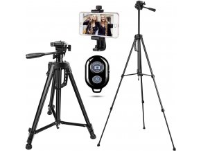 Video stativ 140cm na mobil nebo fotoaparát, s dálkovou spouští 1
