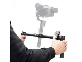 Zhiyun Dual Handheld Grip With ZW B02 Wireles Remote