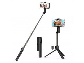 Blitzwolf selfie tyč se stativem a dálkovým ovládáním 87 cm 2