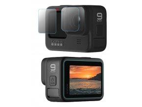 Ochranná sada skel pro GoPro Hero 9 Black 6ks tvrzené sklo 1