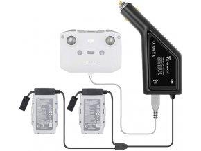 Nabíječka DJI Mavic AIR 2 baterií do auta, autonabíječka, do zapalovače 1