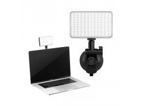 Přísavné LED světlo pro livestream z notebooku, telefonu, nebo tabletu 5