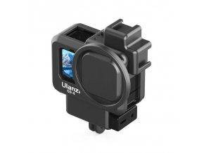 Klec na GoPro 9, audio adaptér i externí mikrofon 3