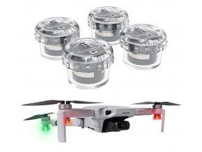 4x signální barevná LED mini světla na drony a modely 7