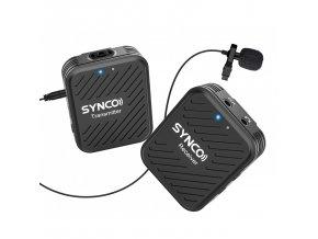 Bezdrátový mikrofon k telefonu, kameře i PC SYNCO WAir G1 0