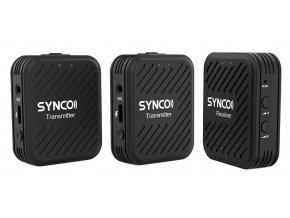 Bezdrátový set 2 mikrofonů k telefonu, kameře i PC SYNCO WAir G1 1