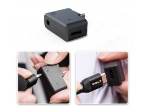Insta360 ONE X2 Audio adaptér pro mikrofon i nabíjení CYNOVA Audio & Charging 5