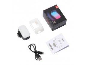 ULANZI VL15 RGB Mini dobíjecí video RGB LED světlo do sáněk 10