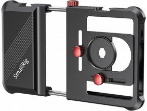 Universální kovový RIG klec cage SmallRig 2494 pro mobilní telefony 1
