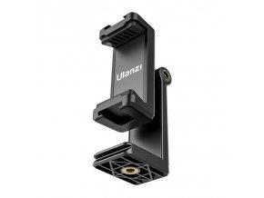 Otočný a náklonný držák mobilu na stativ se dvěma sáňkami pro mikrofon nebo světlo 4